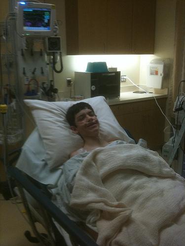 Spencer - hospital 12.10.10